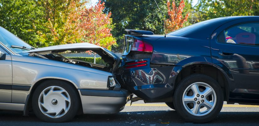 Rear-End Collision Accident
